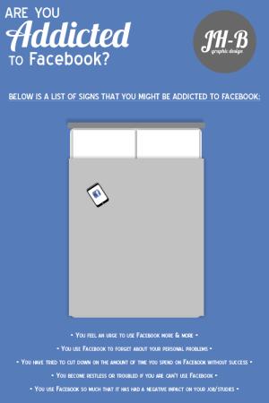 Facebook Addict JH-B Graphic Design